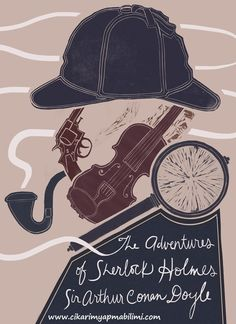 Hypothetical book cover of The Adventures of Sherlock Holmes by Sabina Lindemann Sherlock John, Sherlock Decor, Sherlock Books, Sherlock Holmes Book, Adventures Of Sherlock Holmes, Sherlock Quotes, Watson Sherlock, Jim Moriarty, Elementary My Dear Watson