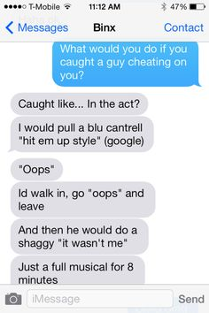 Cheating boyfriend texts
