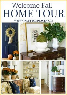 23 Bloggers share their Fall Home Tours and the inspiration is amazing. All the links are at the end of this post. This is a must see!
