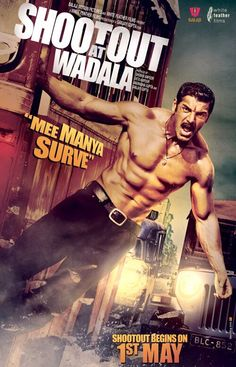 SHOOTOUT AT WADALA Welcome to South-Indian Dubbed Movies Application. This application contains all kind of South-Indian Movies Along with Hindi Dubbed.It is typical for people to find their Favorite South Indian Movie in Hindi Language. Bollywood Posters, Bollywood Photos, Bollywood News, Movies Bollywood, Bollywood Masala, Bollywood Celebrities, Internet Movies, Movies Online, Manya Surve