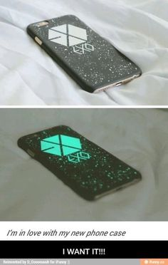 EXO glow in the dark phonecase Exo Phone Case, Kpop Phone Cases, Iphone Cases, Baekhyun, K Pop, Exo Merch, Bts And Exo, Kpop Groups, Cool Stuff