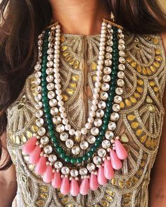 STOP & Stare  Wedding ready with our #InayatNecklace  #AboutALook #Prerto #Love #Fashion #Luxury #Style #Trend #Necklace #Jewelry #Statement