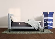 Sleep better in the award-winning Casper Original Mattress! Designed with layers of premium, breathable memory foam. Available in all-foam or hybrid in 6 sizes. Casper Mattress Reviews, Best Mattress, Foam Mattress, Mattress Cleaning, Casper Bed, One Bed, Mattress Springs, Adjustable Beds