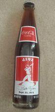 Baseball collectible Pete rose coca cola coke bottle 1985
