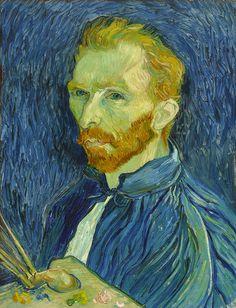Vincent Van Gogh - Self Portrait 1889 fine art preproduction . Explore our collection of Vincent Van Gogh fine art prints, giclees, posters and hand crafted canvas products Vincent Van Gogh, National Gallery Of Art, Art Gallery, Van Gogh Arte, Van Gogh Pinturas, Van Gogh Self Portrait, Van Gogh Portraits, Portrait Art, Henri Rousseau