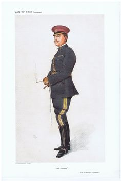 Date: 14-Dec-1910 The Vanity Fair Caricature of Col. Sir P.W. Chetwoode DSO With the caption of : 19th Hussars By the artist: WHO Visit www.theakston-thomas.co.uk for many more Vanity Fair Prints, we have one of the largest collections in the world.