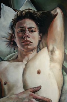 """Determination"" olio su tela Cody Furguson (Tulsa, USA)"