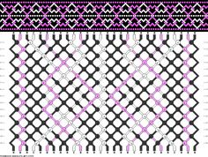 28 strings, 16 rows, 3 colors