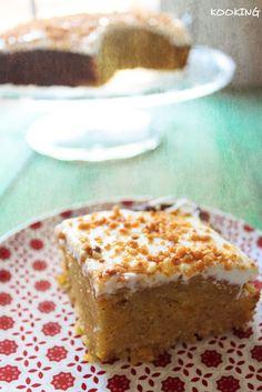 KOOKING: Pumpkin spice cake (Pastel de calabaza especiada)