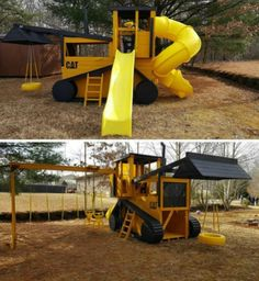 Playground Set, Playground Design, Backyard Playground, Backyard For Kids, Backyard Ideas, Backyard Playhouse, Build A Playhouse, Childrens Outdoor Play Equipment, Outdoor Toys
