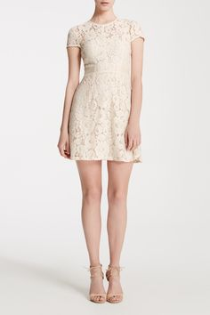 Chelsea is a fitted, flirty mini-dress in our signature lace. Features cap-sleeves, inset grosgrain waist detail and a seperate, sleeveless lining in our champagne color. Champagne Bridesmaid Dresses, Bridesmaids, Champagne Color, Wedding Bells, Grosgrain, Chelsea, White Dress, Short Sleeve Dresses, Formal Dresses