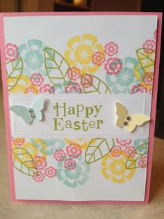 Catherine Loves Stamps: Masked Easter Cards x 2