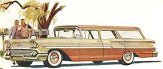 Long Roof Love: 1958 Chevrolet Station Wagon brochure