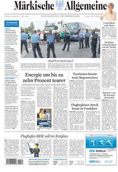 Freitag, 31. August 2012 » http://www.maerkischeallgemeine.de