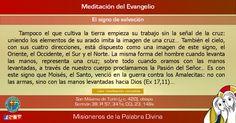 """MISIONEROS DE LA PALABRA DIVINA: MEDITACIÓN DEL EVANGELIO - """"El signo de salvación""""..."""