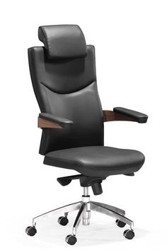 ZUO Modern Chairman Office Chair $697.99. Very Sophisticated for any office! Black or white to choose from   www.modernchairsdirect.com
