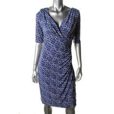 ralph lauren blue tonal dress - Bing images