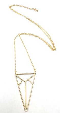 Scriba Necklace #geometric #designinspiration