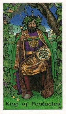 robin wood tarot: king of pentacles