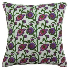 Indian Home Decor Ethnic Cushion Cover Abstract Block Printed Throw Pillow Case for sale online Cheap Throw Pillows, Toss Pillows, Floral Cushions, Cotton Throws, Decorative Pillow Covers, Pattern Blocks, Traditional Art, Pillow Shams, Printed Cotton