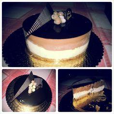 Cheesecake cioccolato e cocco