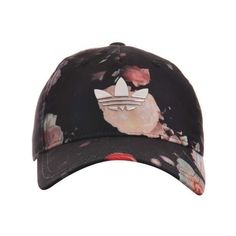 Boné Adidas Originals Rose Cap (40 BRL) ❤ liked on Polyvore featuring accessories, hats, caps hats, adidas originals hat, rose hat, rosebud hats and adidas originals