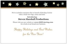 Inside The SMP Holiday card for 2013; also served as an announcement for the rebranding of their business.