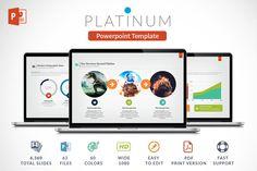 Platinun   Powerpoint Presentation by Zacomic Studios on @creativemarket