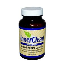 At Last Naturals InnerClean Inner Tabs - 200 Tablets