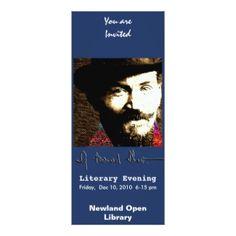 Bernard Shaw - Evening Card