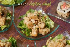 Asian Chicken Salad | Your Perfect Party