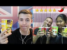 Thai Spicy Noodle Challenge! | CalWebby | Thai Snack Online | Buy Snacks Free Worldwide Shipping