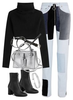 """""""Untitled #2009"""" by sophiasstyle ❤ liked on Polyvore featuring Off-White, Valentino, H&M and Forever 21"""