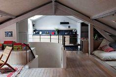 April and May: small attic living