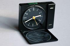 Braun AB 310 ts quartz alarm clock designed by Dietrich Lubs in 1982 | 79 GBP / 125 USD