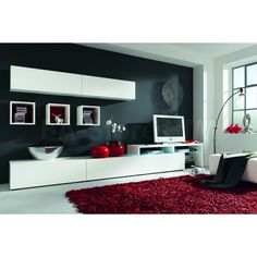 With This Wall Unit Combination Your Living Room Will Acquire The New Style And Be Provided Storage For Media Components Collections Etc