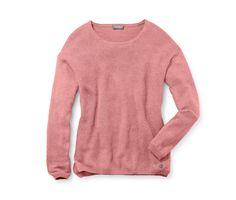 Női pulóver, rózsaszín-melanzs 331088 a Tchibo-nál.