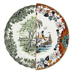 "Hybrid Ipazia 10.8"" Porcelain Dinner Plate"