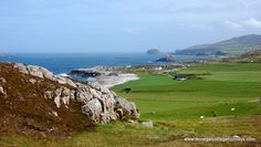 The coastline at Malin Head, Co Donegal