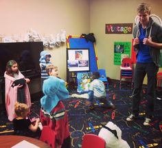 Throwback Thursday to December 2013! Our Redemption Kids meeting in the evening inside our borrowed space at Vintage Church.  This was before Redemption Church launched officially.  #RedemptionKIDS #churchplant #churchplanting #edmond #oklahoma