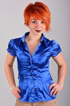 Рубашка Б7640  Цена: 350 руб  Размеры: 40-46    Элегантная рубашка приталенного кроя с воротником.  Модель с застежкой на пуговицы.   (маломерит на размер)  Состав: атлас.     http://odezhda-m.ru/products/rubashka-b7640     #одежда #женщинам #блузкирубашки #одеждамаркет