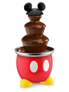 The two best things on the planet have combined. Disney and chocolate. Love this Disney Classic Mickey Chocolate Fountain! Cozinha Do Mickey Mouse, Mickey Mouse Kitchen, Mickey House, Disney Cruise, Disney Parks, Disney Dorm, Disney Stuff, Disney Trips, Minnie Mouse