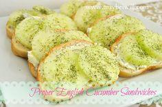 Proper English Cucumber Sandwiches on MyRecipeMagic.com