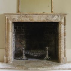 Travertine fireplaces - Buscar con Google