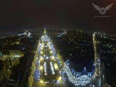 Timisoara Tower, Christmas Tree, Holiday Decor, Amazing, Places, Nature, People, Teal Christmas Tree, Rook