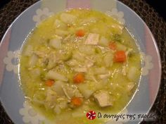 Great recipe for Extraordinary chicken soup. This chicken soup is unforgettable! Everyone who has tried it at my house has left with the recipe! Recipe by VIVIΚΑ Cookbook Recipes, Sweets Recipes, Dinner Recipes, Cooking Recipes, Food Network Recipes, Food Processor Recipes, Yummy Snacks, Yummy Food, Yummy Yummy