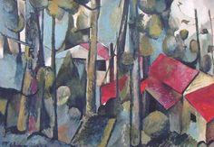 Kauri (Unfinished) by Colin McCahon for Sale - New Zealand Art Prints