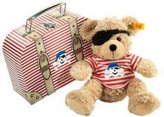 ours Teddy pirate Fynn avec valise Steiff   shop pour enfants Le Petit Zèbre