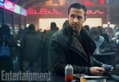 Ryan Gosling as LAPD Officer K in Blade Runner 2049