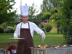 Grillfest im Hotelgarten :)